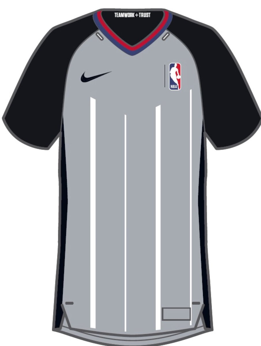 8eec5085ab41 FIRST LOOK  New Nike NBA referee uniforms for upcoming  seasonpic.twitter.com Gd58KJH98r
