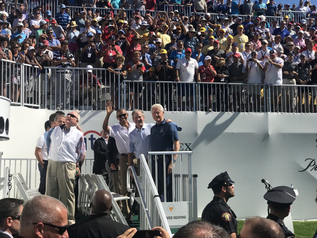 The Presidents @PresidentsCup ! https://t.co/ZnPzYlgGGN