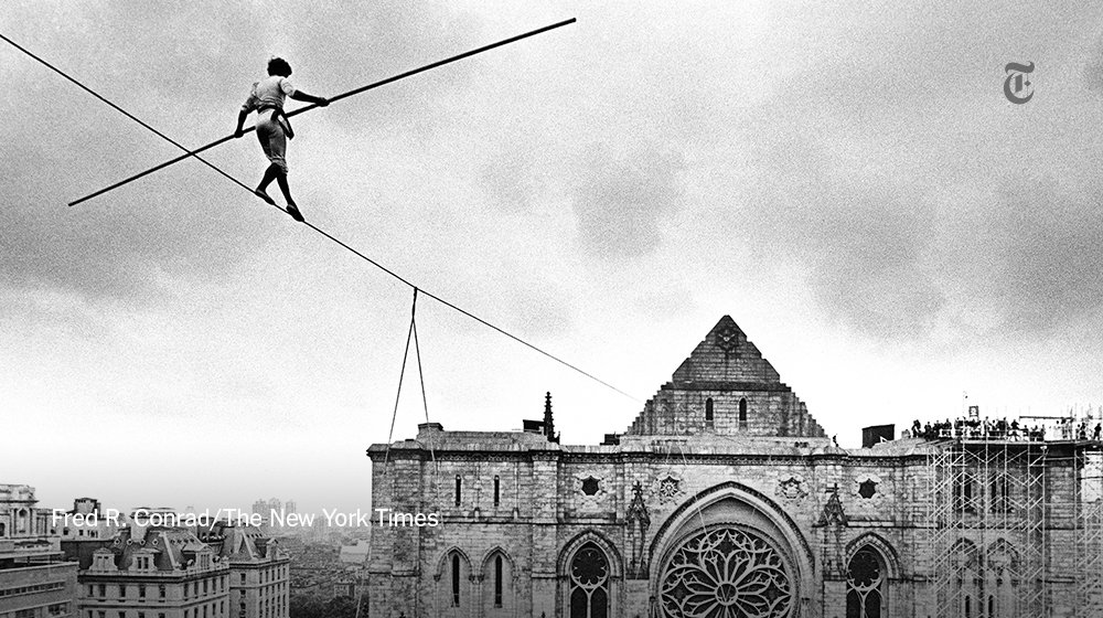 Philippe Petit cheated on annie