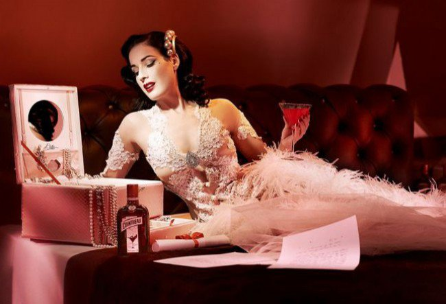 Happy birthday to the queen of glam dita von teese