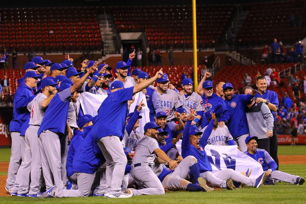 Image result for Chicago Cubs 2017 NL Central champs