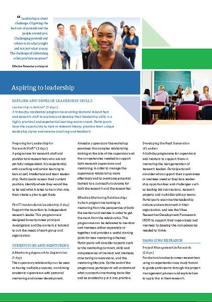 ..and the final point we&#39;d like to share about our new training leaflet is hot topic:leadership training.   http:// bit.ly/2wYDPPr  &nbsp;    #vitae17 <br>http://pic.twitter.com/zd9CNZUsai