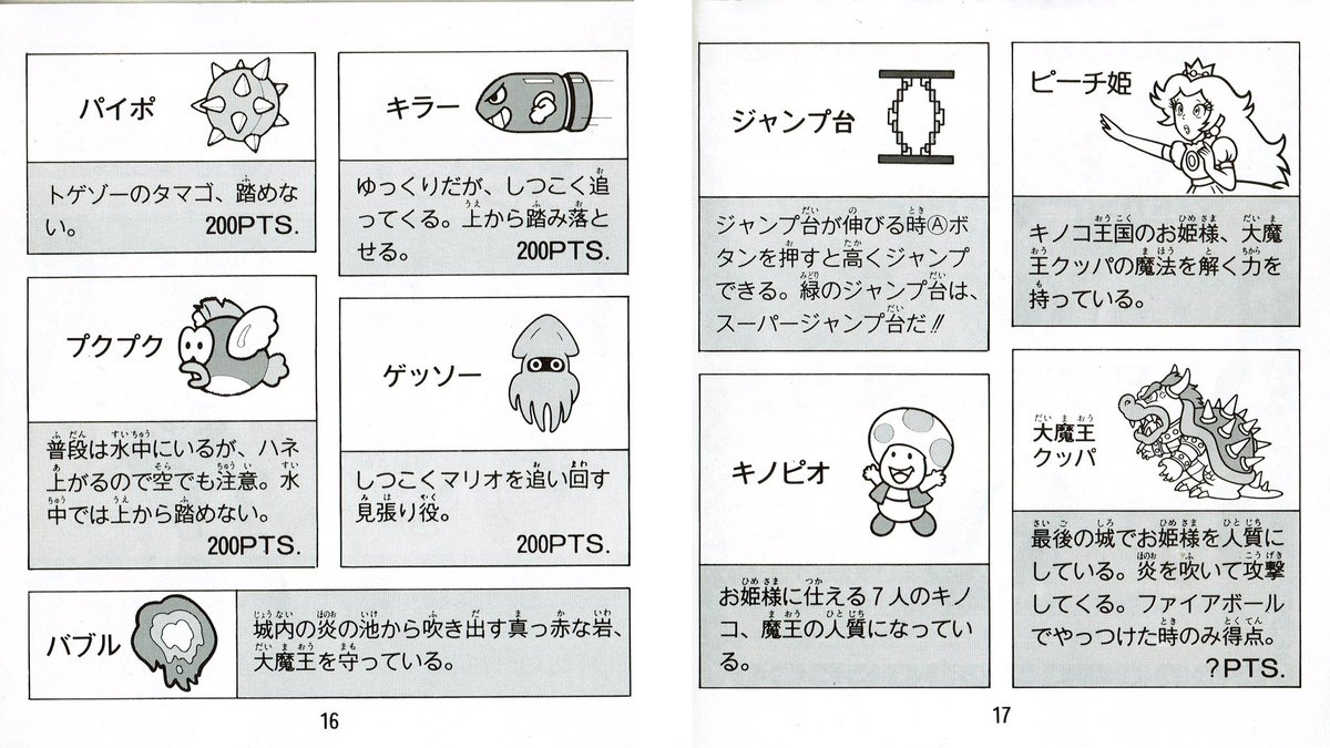videogameart tidbits on twitter from the instruction manual super rh twitter com Super Mario Brothers new super mario bros 2 instruction booklet