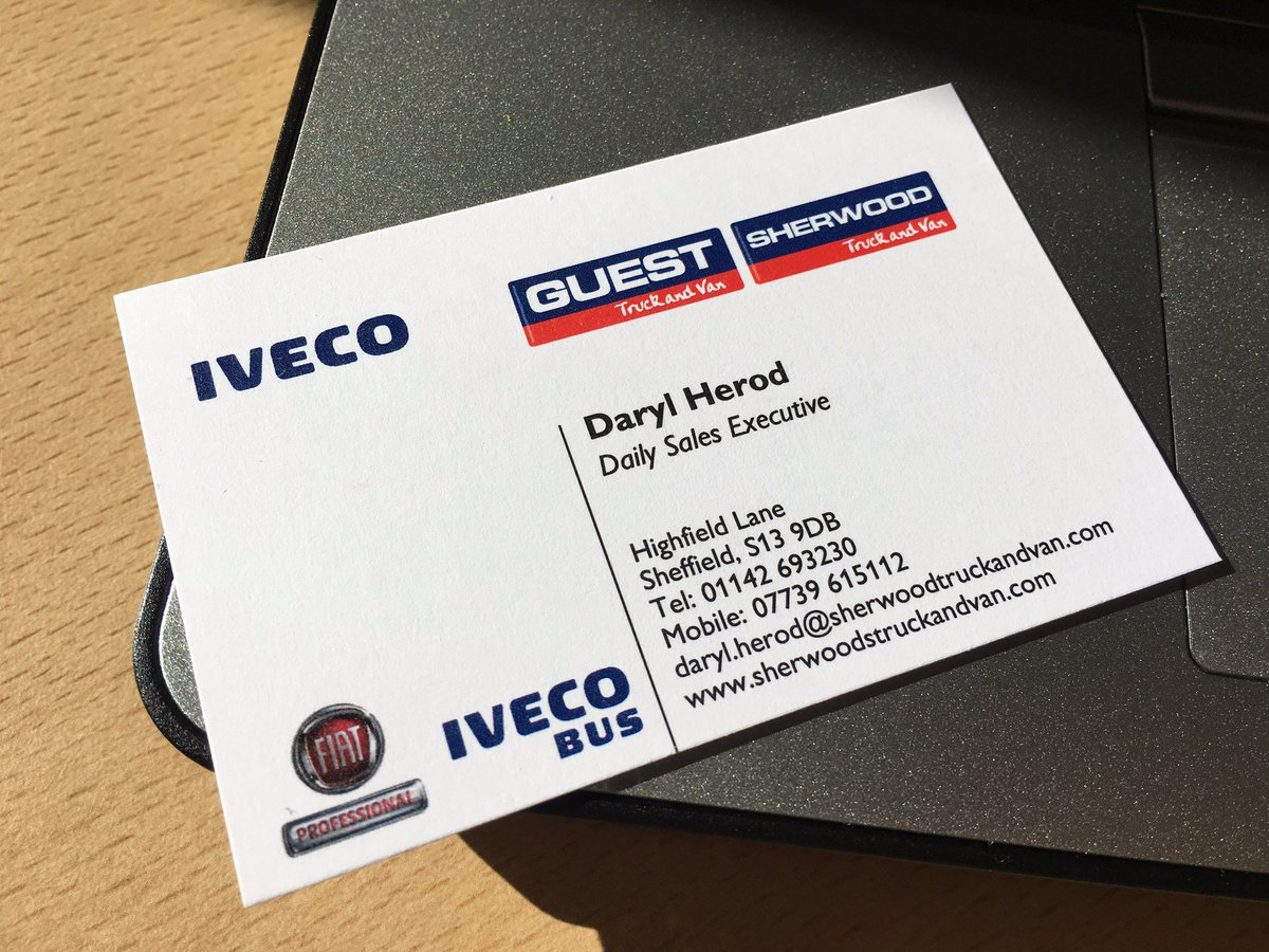 Daryl herod on twitter businesscards business iveco van truck daryl herod on twitter businesscards business iveco van truck newjob career bigthings fuelsavings sheffield yorkshire sherwoodtruckandvan reheart Image collections