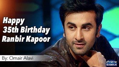Happy 35th Birthday Ranbir Kapoor By: Omair Alavi Details: