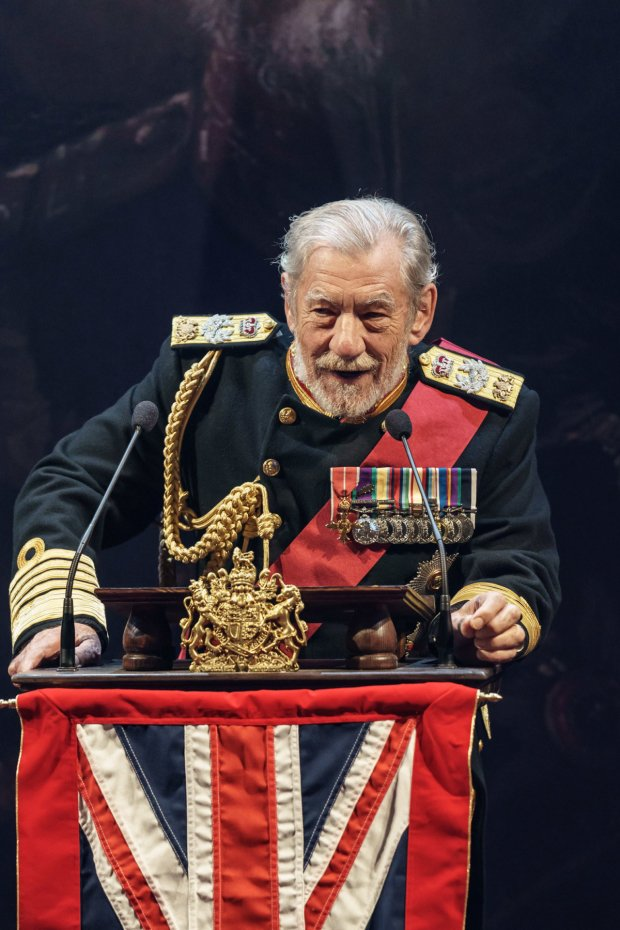 King Lear. Now on stage in Chichester.