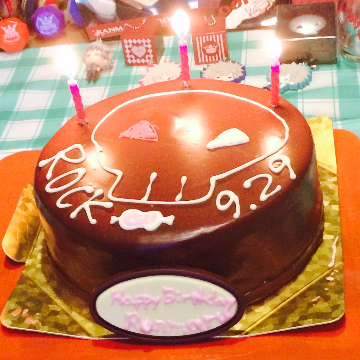お誕生日おめでとうございます!!🎂🎉✨💕 #utapri_ranmaru_BD2017 #黒崎蘭丸生誕祭2017