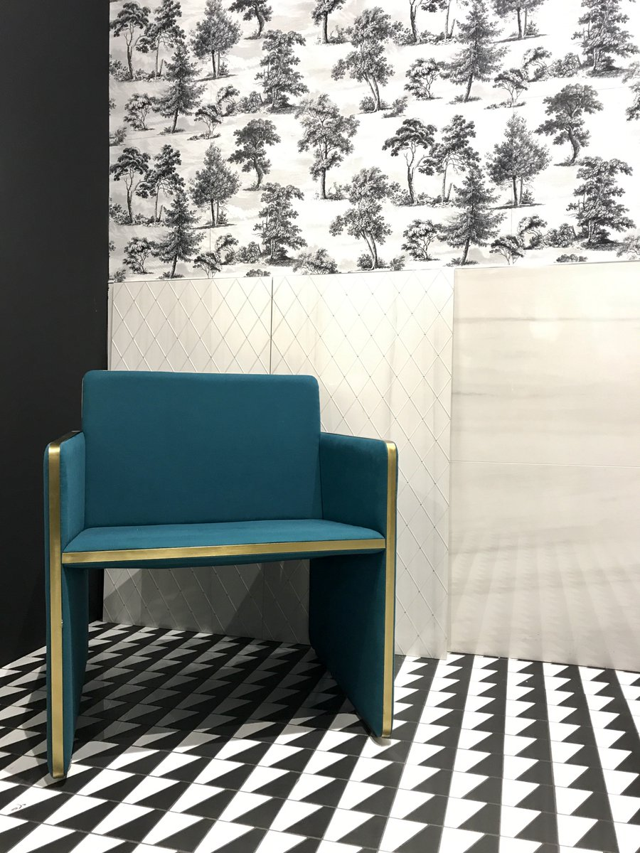 ITA Miami On Twitter Wallpaper Concept Adapted Onto Ceramic Tiles - Discount tiles miami