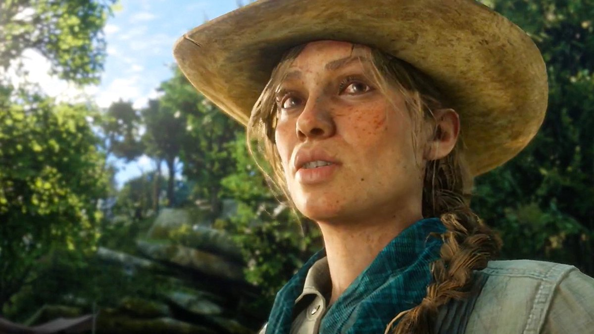 Who is this mysterious woman in Red Dead Redemption 2? #RDR2 #RedDeadRedemption2