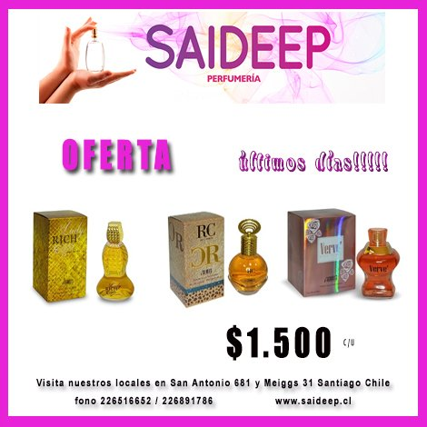 Top Five Perfumes Meiggs - Circus