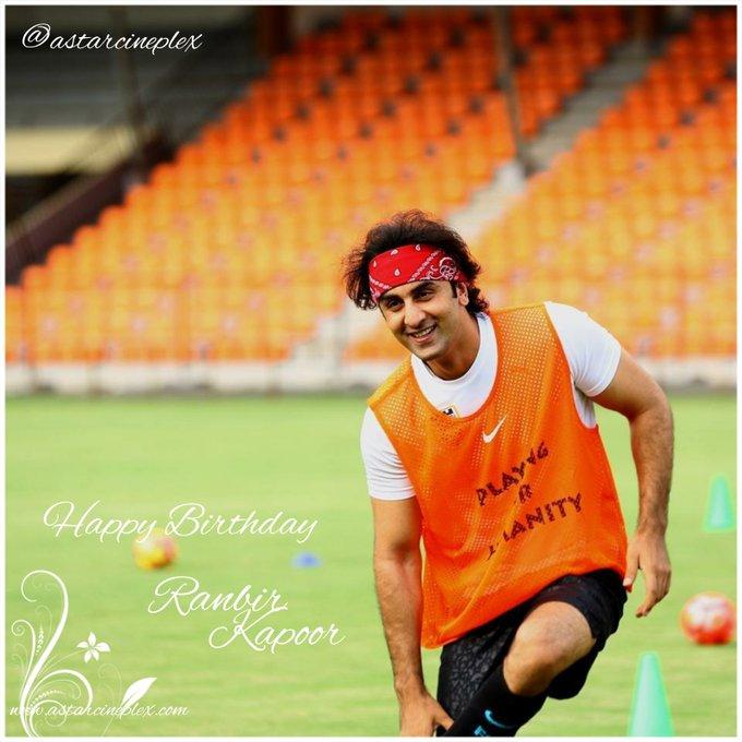 Wish You Very Happy Birthday Rockstar  Super Star Ranbir Kapoor   Stay Always Happy