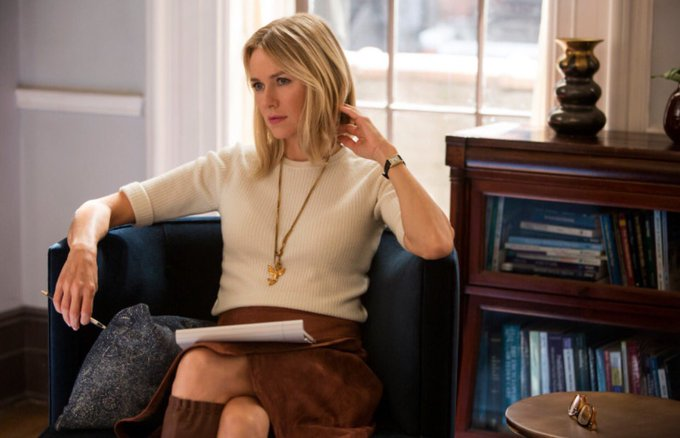 Happy birthday to Naomi Watts, our favorite therapist, and one of the stars of