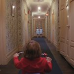 """A little slow tonight, isn't it?""  The Shining (1980) dir. Stanley Kubrick kubrick stories"