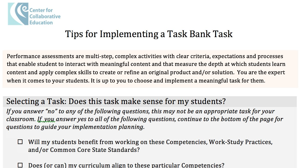 """PARB on Twitter: """"Tips for Implementing Performance Assessments for  #deeperlearning. Free resource and account https://t.co/zcKprLB92a from  @CCEBOSTON… ..."""