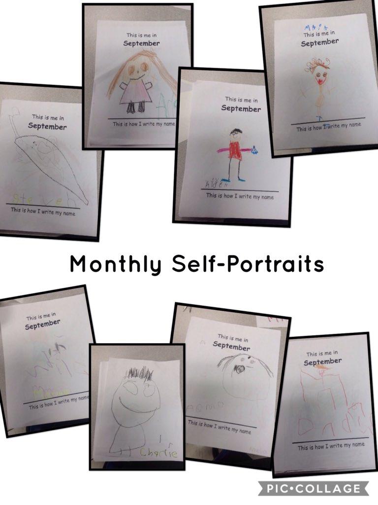In a mirror self portrait
