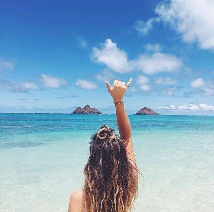 Ocean air and salty hair.