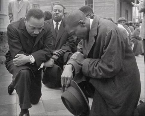 Ever wondered what it was like to be in the civil rights movement and how u would have acted? Now is your chance. Youre in it. #TakeAKnee