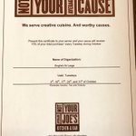 Tuesdays at @NYAJoes Burlington benefits EAL!  Dine in and 15% of your bill will support programs for immigrants in your community!