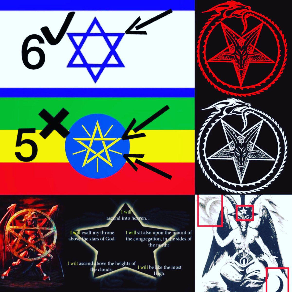 on twitter the 5 sided fallen star lucifer is on twitter the 5 sided fallen star lucifer is the symbolism of satanism the flag of ethiopia can not be symbolized based on satanic buycottarizona