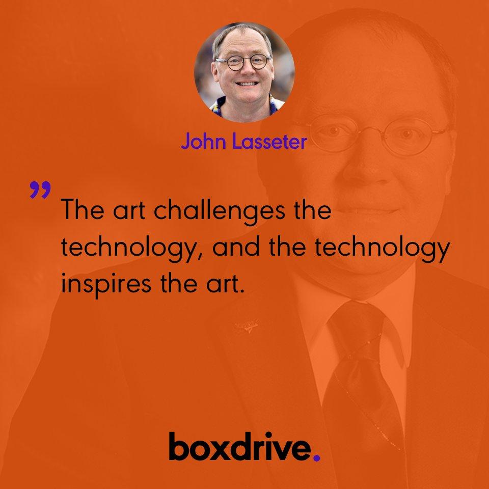 Quotation by John Lasseter #boxdrive #quots #today #technology #John #Lasseter #cloud #IT #solution<br>http://pic.twitter.com/4QnARfmayh