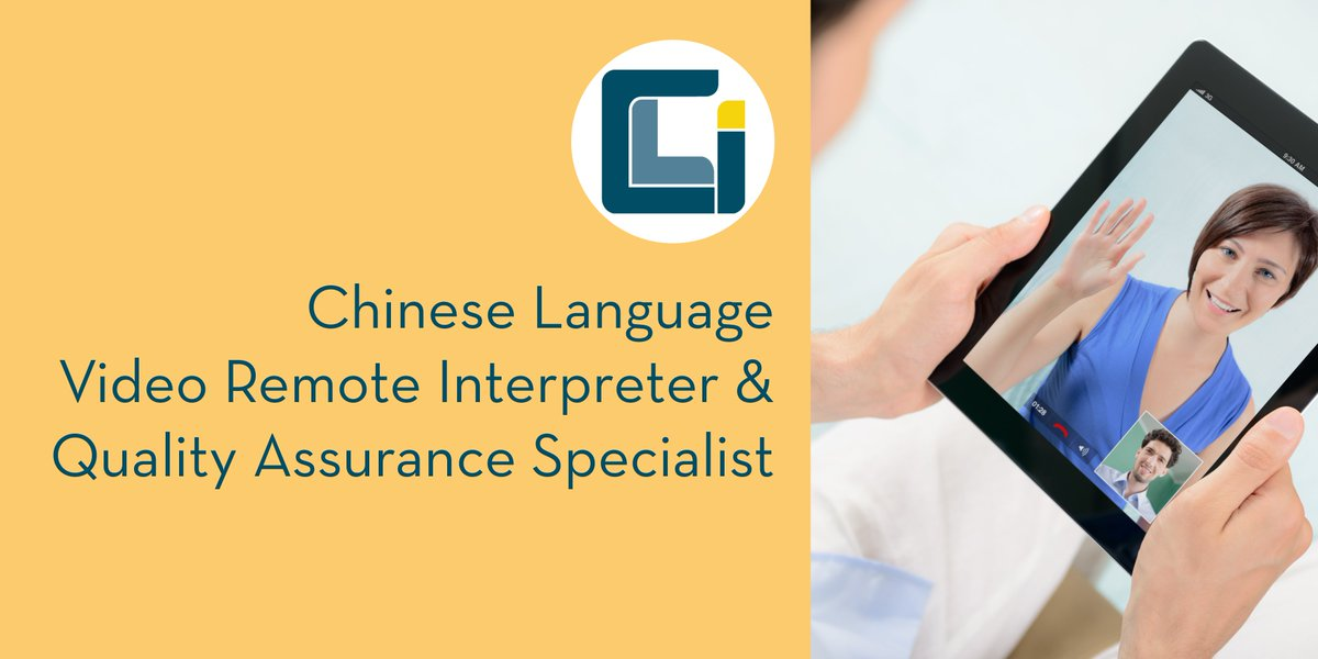 Certified Languages On Twitter Cli Is Looking For A Mandarin