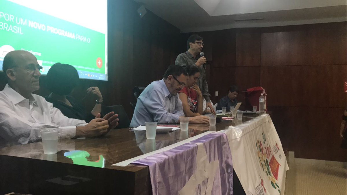 AO VIVO - Marcio Pochmann fala agora sobre a plataforma #BrasilQueOPovoQuer! Acompanhe: https://t.co/hNnmwPKb65