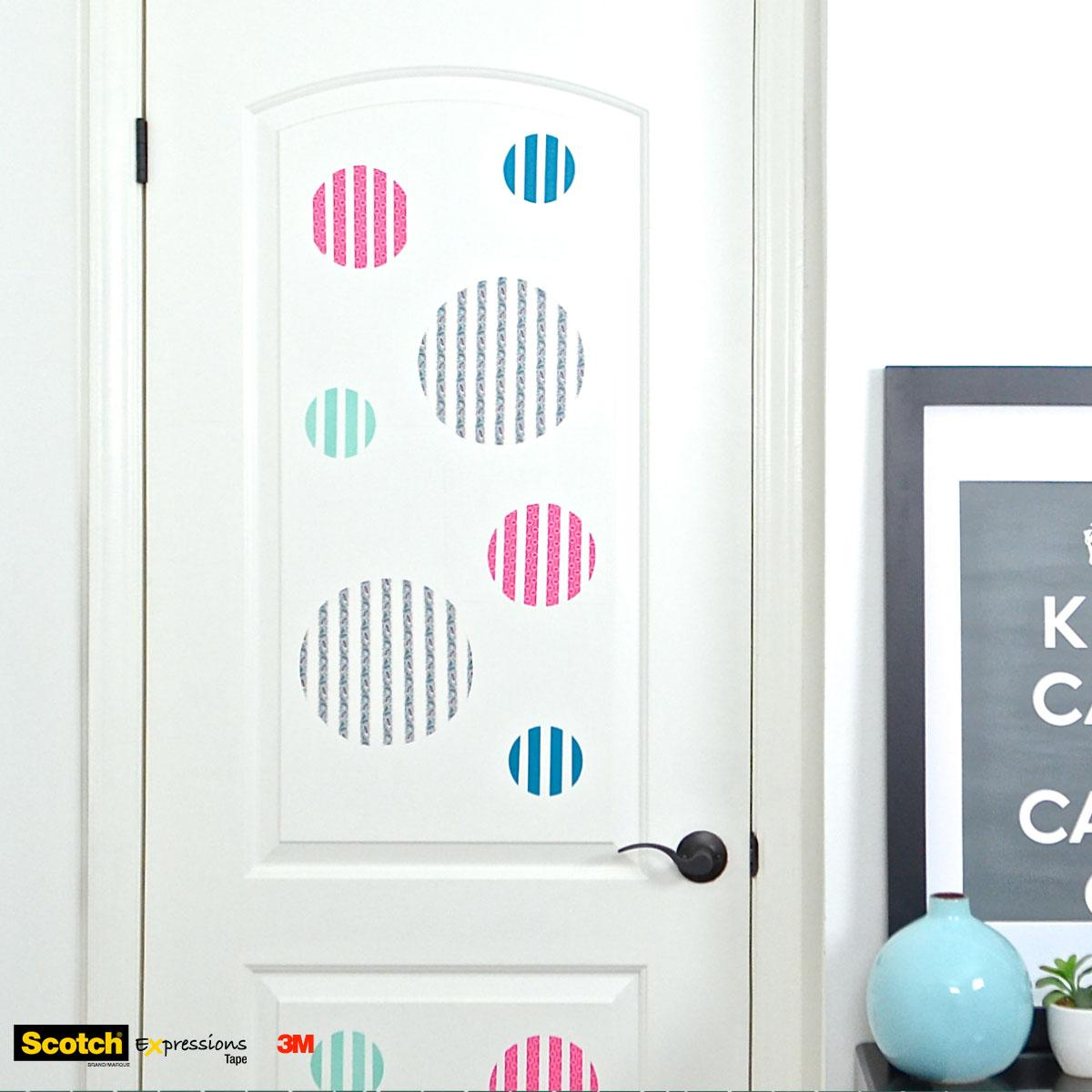 Scotch® Brand Canada on Twitter  A #polkadot door? Why not! Be sure to give it a try and share a pic of the results in the #comments!  sc 1 st  Twitter & Scotch® Brand Canada on Twitter: