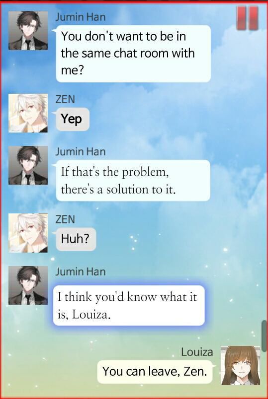 #Sorrynotsorry #MysticMessenger #Anotherstory #Vroute #MysMes #MM