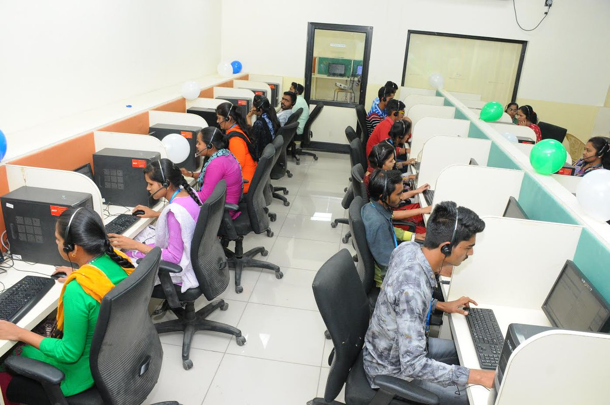 190 youths are employed in this rural BPO in Gujarat, soon the figure will touch 300