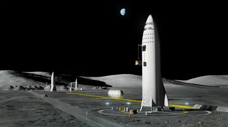 Лунная база Альфа
