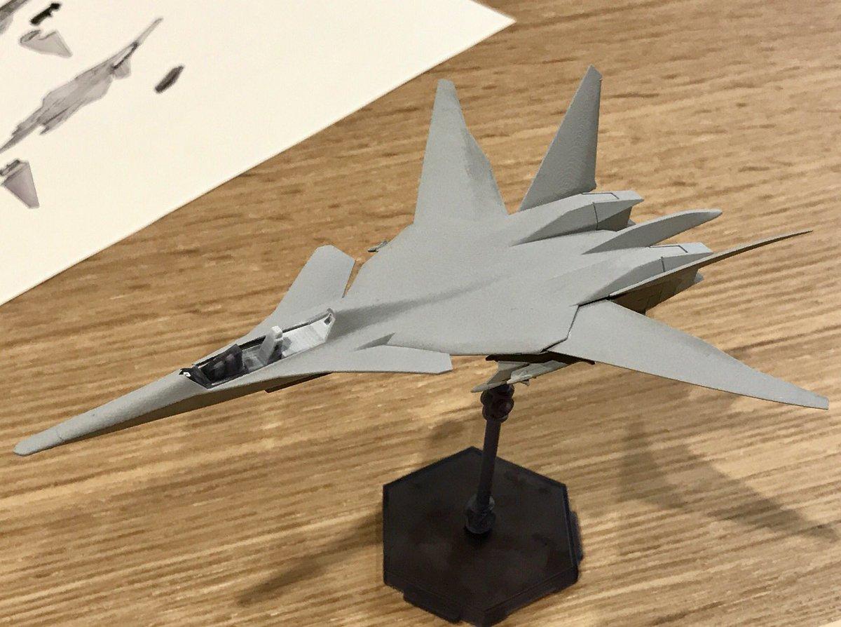 夢だけど、夢じゃない!コトブキヤさんからエースコンバット架空機の源流、XFA-27の1/144キットが発表されました! 画像は形状確認用に出力されたもので、これからモールドが入るという事ですが、既にこの高密度感です。[kanno]