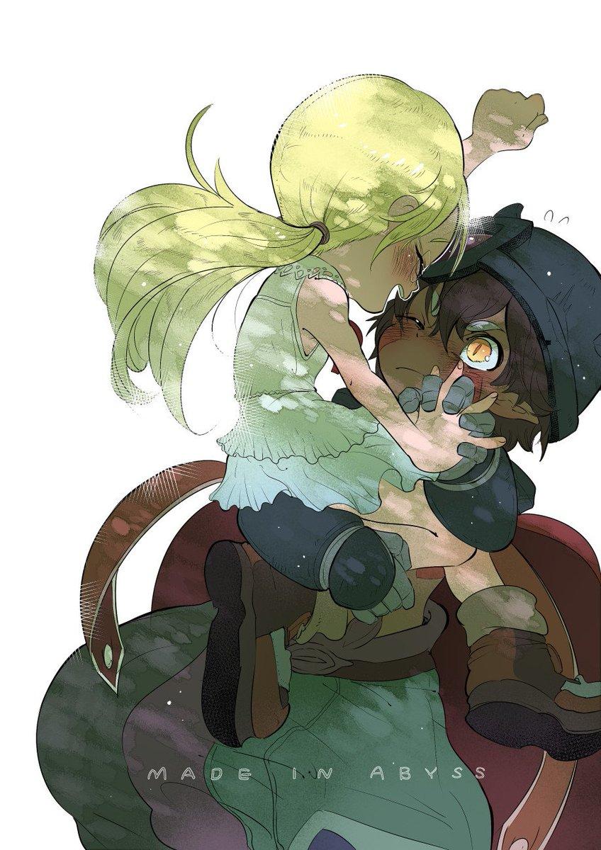 アニメが終わってしまう…。 もっと動く2人が見たいので2期待ってます。 レグリコ可愛いよ… #メイドインアビス
