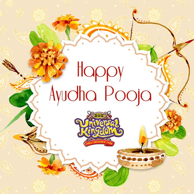 Vgp universalkingdom on twitter have a blessed ayudha pooja 1030 pm 28 sep 2017 m4hsunfo
