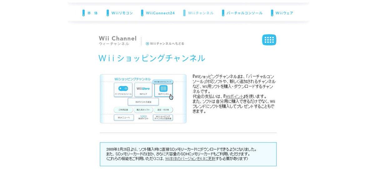 【ニュース】任天堂、WiiウェアやVCを配信するWiiショッピングチャンネル終了を発表。アイディア光る作品群が生まれた場所