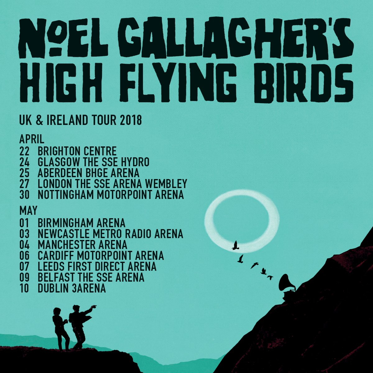 noel gallagher 2018 tour dates Noel Gallagher on Twitter: