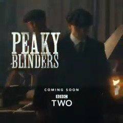 """Today, we end this war between us.""  The new series of #PeakyBlinders. Coming soon to @BBCTwo"