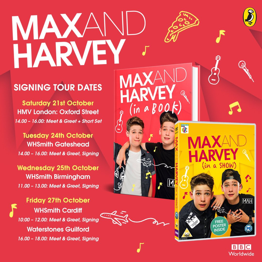 Max Harvey On Twitter Were Going To Tour The Uk And Sign Some
