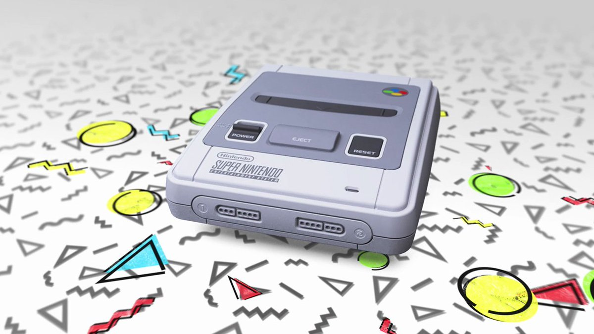 The console of a generation returns – #SNESmini is out now! ►