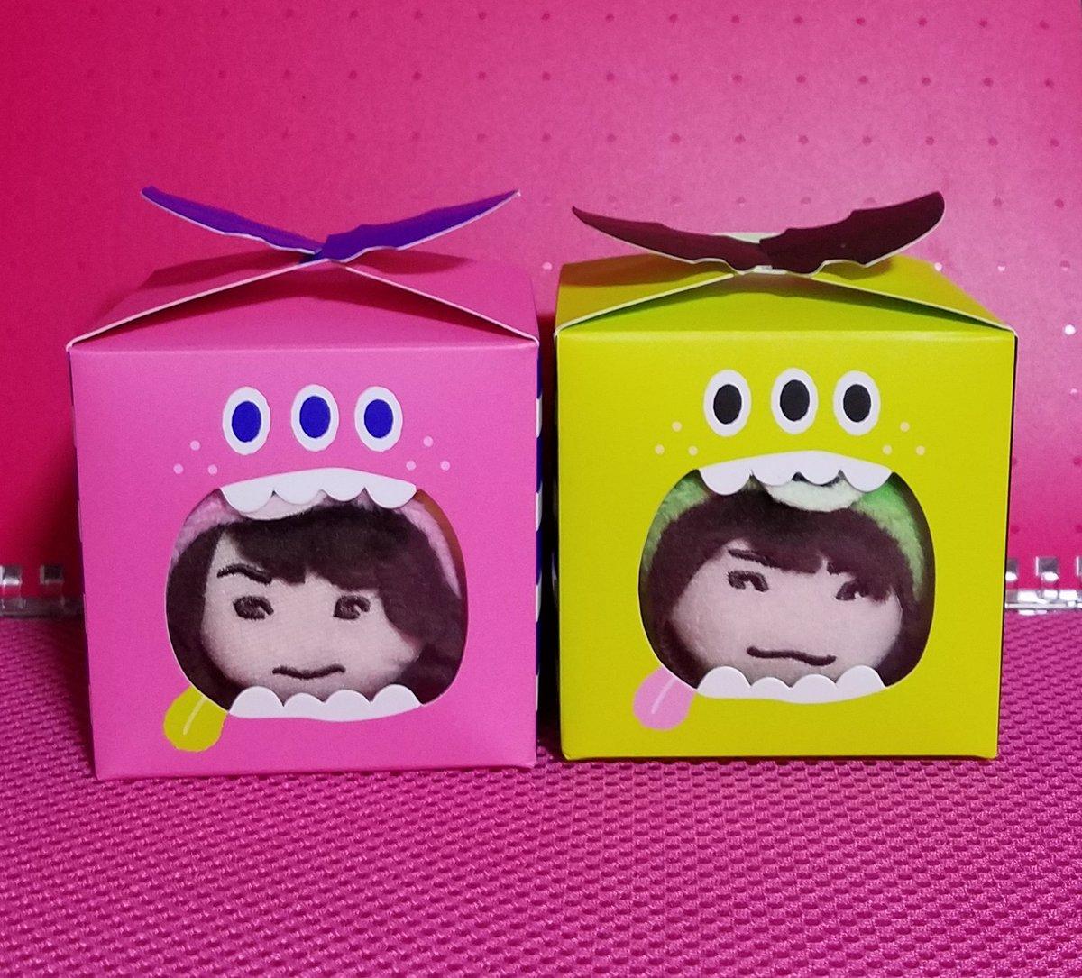 test ツイッターメディア - 可愛い箱見つけた(*'▽'*)♪  ピンクとキミドリだから、ガヤベアとニカベアを入れてみたよ!  #藤ヶ谷太輔 #二階堂高嗣  #Seria https://t.co/2yL8Kc2Cui