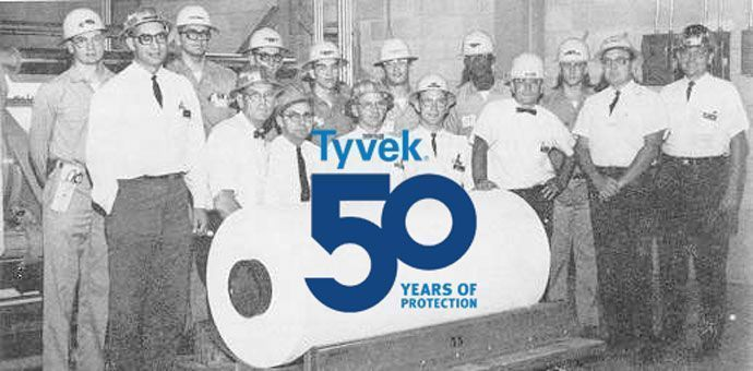 Tyvek Turns 50 Today We Celebrate Years Of Innovation And Making A World Greater Good Possible Https Buff Ly 2hsu1py Tyvek50pic Twitter