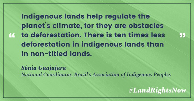 We can turn #ParisAgreement commitments into reality—if we strengthen indigenous & community #LandRightsNow.  https://t.co/SVzIKQ89Kw https://t.co/AQqoLm9Py6