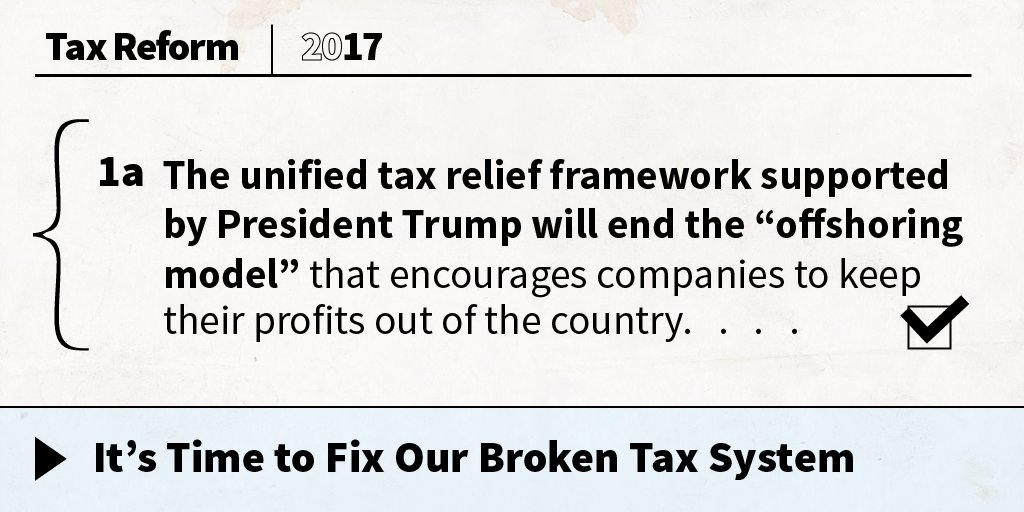 The unified tax relief framework will bring jobs and businesses home: https://t.co/e1e9IffFRL https://t.co/WcmUddqyJG
