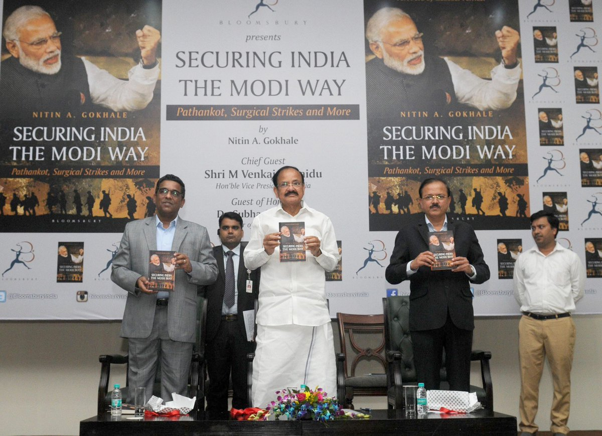 Image result for securing india the modi way writer