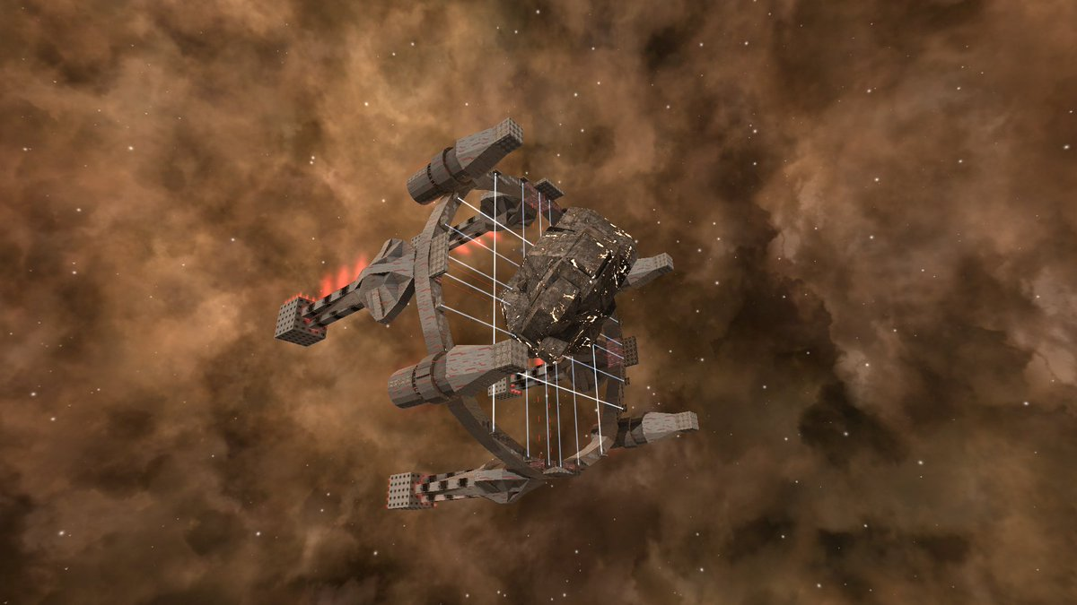"Avorion Ship Designs avorion on twitter: ""weekly build: for big asteroids you"