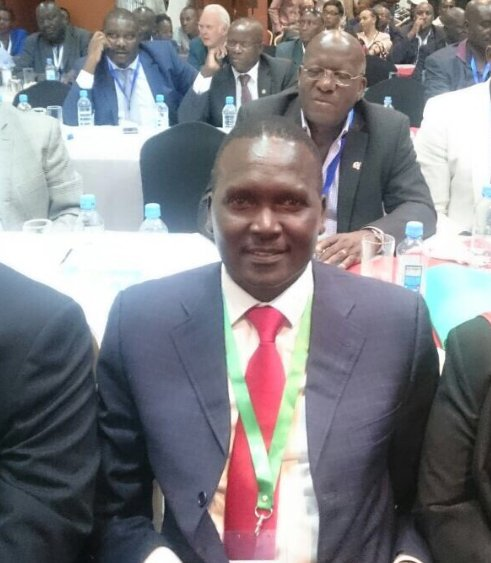 Congratulations Paul Tergat! New NOCK Chairman. He was elected unopposed. #TheScoreKE https://t.co/sjOwPrhAj2