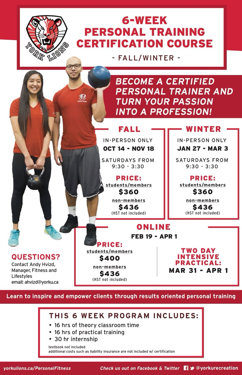 Yorkurecreation on twitter 8 signs you should become a personal yorkurecreation on twitter 8 signs you should become a personal trainer httpst2rrx9jxsh7 register client services for our wits pt certification xflitez Images