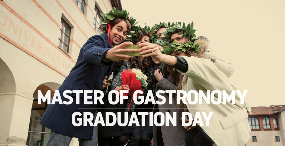 The first Master of Gastronomy Diplomas awarded from UNISG in Italy! 48 food studies students graduate. https://t.co/pbHrP6Vzu2