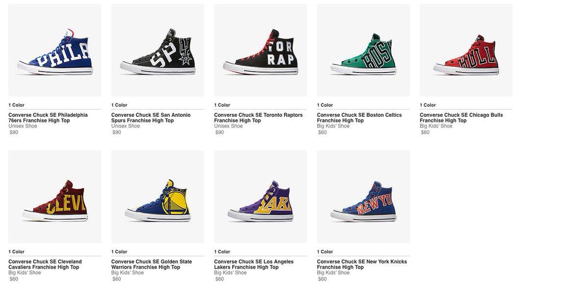 Converse nba team logo shoes ( 90) - scoopnest.com 4c4e7a529