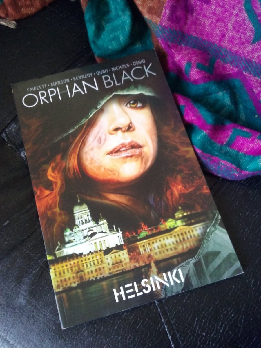 #FridayReads #OrphanBlack no you're obse...