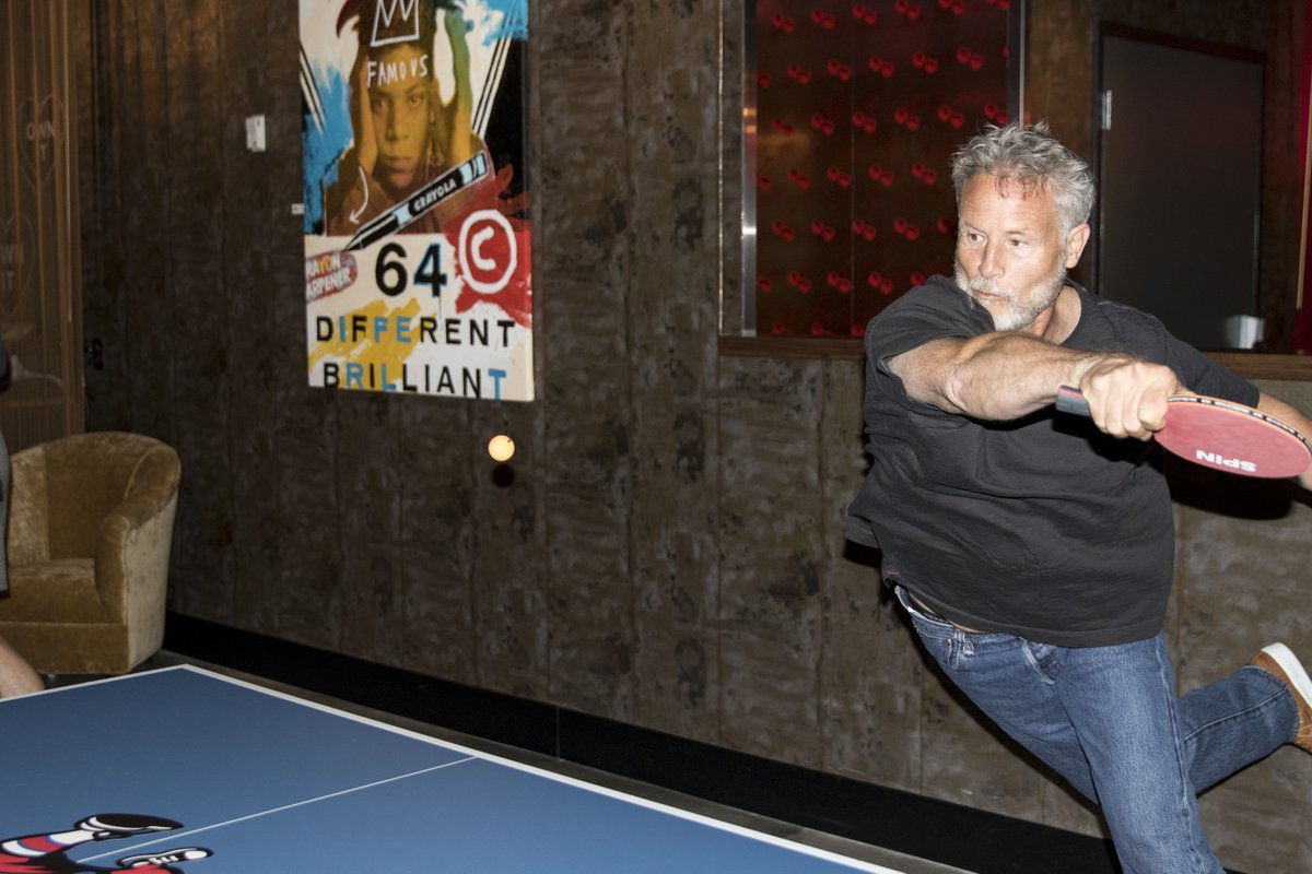 Brett Brown playing ping pong may very well be the greatest sports photo ever taken (via @JCameratoCSN) https://t.co/gSZEetn1JF